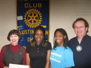 Sojourn to Past - Austintown Rotary