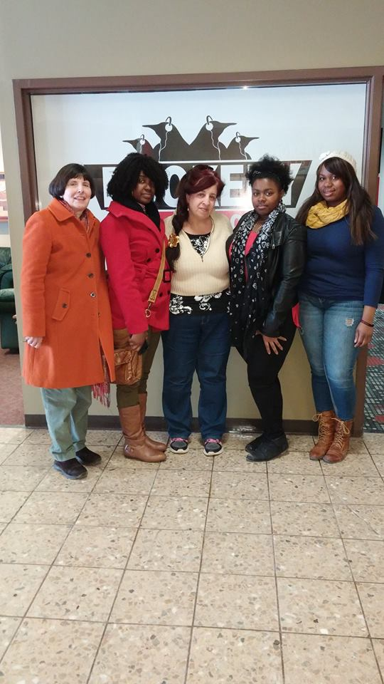 Feb 28, 2015 Sojourn Students and Penny Wells at the YSU radio station with host Rebecca Solden