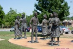 Statues- Little Rock Nine