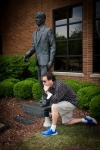 Jeff Steinberg - Statue of Fred Shuttlesworth